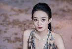 11月7日,赵丽颖现身上海以品牌中国区大使的身份出席活动。