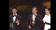 電影金雞獎頒獎禮張國立調侃黃曉明 粉絲熱烈鼓掌歡呼