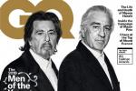 兩代教父聚首!阿爾·帕西諾和德尼羅登雜志封面