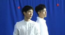 《星辰大海》MV拍攝現場 劉昊然、陳飛宇帥氣白襯衣亮相
