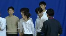 《星辰大海》MV拍摄现场 32位青年演员同框演绎