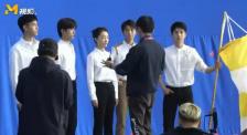 这个画面好难得!五位青年演员同框 周冬雨C位!