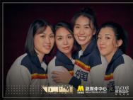 金鸡百花电影节:《中国女排》演员拍摄影人写真