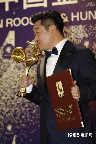 金鸡后台|王景春:再和咏梅一起拿奖,一切太美好