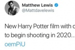 """原班人马再演《哈利·波特》?""""纳威""""发推溜粉"""