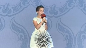 《天火》全球首映礼 小蜜蜂献唱《青花瓷》