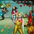 《猛禽小隊》手繪海報 戲仿名畫《維納斯的誕生》
