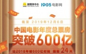 2019中国电影票房破600亿!