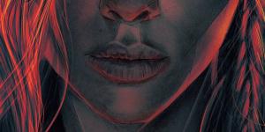 电影《黑寡妇》曝光全新海报 手绘风格光线迷离