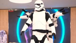 """""""星战""""黑科技走进现实 灵感源自R2-D2机器人"""