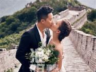结婚了?韩庚卢靖姗订婚照曝光 长城上甜蜜拥吻