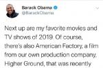 奥巴马的年度最佳电影榜单 《江湖儿女》榜上有名