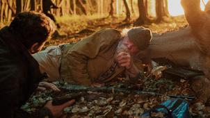 《天使陷落》正片震撼片段 林中地毯式轰炸一爽到底