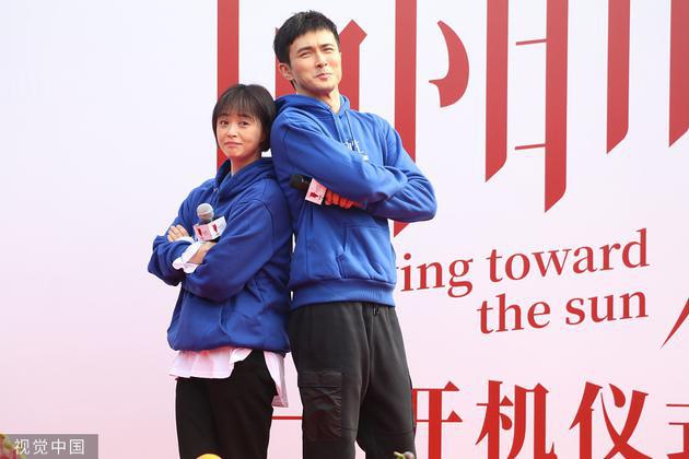 """蒋欣高伟光新剧开机 二人上演""""互诉衷肠""""戏码"""
