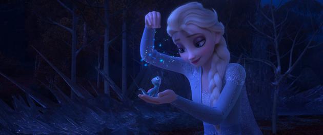 《冰雪奇缘2》破北美感恩档记录 吸金高达1.23亿美元