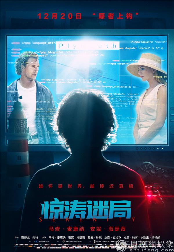 安妮·海瑟薇新片《惊涛迷局》上映 八大看点揭开真