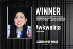 奥卡菲娜获最佳女主角 成首位获该奖的亚裔女演员