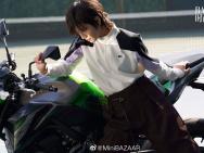 新晋小花李庚希变身网球少女 挑战个性运动风