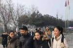 """張子楓參加河南藝術類統考 為粉絲簽""""加油""""鼓勵"""