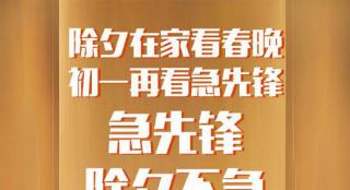 《急先锋》发海报确定不改档:除夕在家看春晚