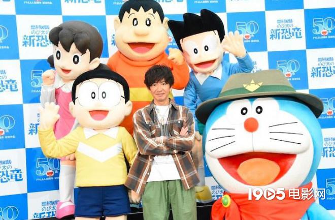 《哆啦A梦》最新剧场版举行发布会 木村拓哉助阵