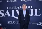 由克里斯·桑德斯执导的影片《野性的呼唤》在墨西哥举行了新闻发布会,影片主演哈里森·福特现身活动现场。