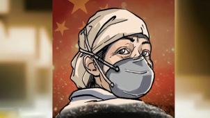 """共抗疫情!中影动画发布漫画 致敬战""""疫""""一线工作者"""