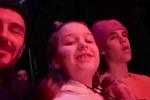 貝克漢姆幫女兒追星 小七被偶像比伯擁抱親額頭