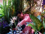 张若昀奇幻漂流写真 花间少年静待一个春日重逢