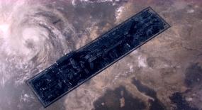 人类乘巨型飞船移民火星,却漂浮太空590万年,飞船都化为石棺