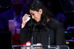 瓦妮莎痛哭缅怀科比和Gigi:直到我们在天堂相遇