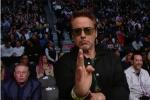 钢铁侠也看UFC!小罗伯特·唐尼见证张伟丽卫冕