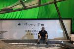郭帆晒《流浪地球》片场照 苹果第19代手机抢眼