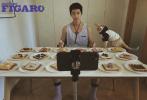 3月23日,屈楚萧为《MadameFigaroPark》拍摄的时尚大片发布。这组时尚大片由他自己掌镜拍摄完成,分享了他的宅家生活。
