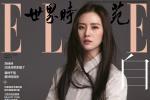刘诗诗黑长直发型登封 谈当妈感受:辛苦但幸福