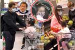 郭富城携方媛和女儿逛超市 戴口罩做足防疫措施