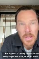 胡子比頭發多?本尼錄視頻呼吁抗疫新造型吸睛