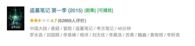 上海百姓网:《龙岭迷窟》凭什么在国产剧中开年评价最高? 第5张