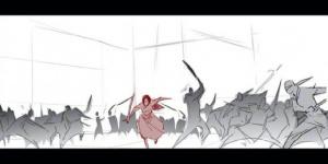 妮基·卡罗晒出《花木兰》故事板 致谢合作艺术家
