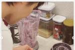 梁詠琪為母親慶生親手做蛋糕 混血女兒開心出鏡