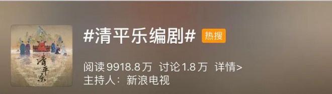 """77资讯网导读:《清平乐》编剧""""魔改""""上热搜 历史剧去向那边? 第2张"""