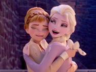 姐妹情深!迪士尼曝《冰雪奇緣2》高清壁紙