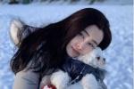 凍齡!53歲王祖賢素顏與愛犬智悟合影 玉女依舊