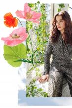 春花烂漫!蕾切尔·薇姿演绎浪漫植物系自然大片