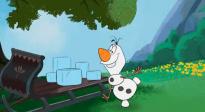 《冰雪奇緣》衍生短劇《和雪寶一起宅家》第十九集