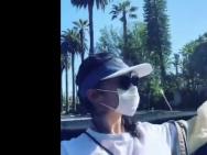 刘亦菲隔离后首次出门 坐敞篷车兜风享受阳光