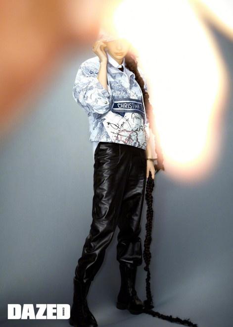 双鸭山物流:蝎女郎!Baby长辫造型上封 皮裤配马丁靴攻气十足  第5张