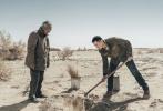 """近日,""""失踪人口""""胡歌远赴G7公路沿线内蒙古额济纳旗做公益,参与守护G7公路生态公益项目。"""