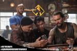 電影《海王》發布幕后照 溫子仁與杰森·莫瑪熱聊