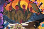 《誓血五人组》曝光新海报 手绘风格含义丰富